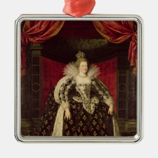 Marie de Medici  in Coronation Robes, c.1610 Christmas Ornament