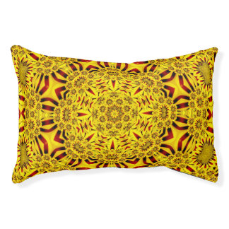 Marigolds Colorful Indoor Or Outdoor Dog Bed