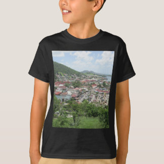 Marigot Waterfront From Fort Louis T-Shirt