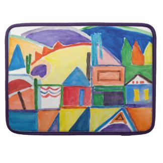 "Marilyn Holmes Fine Art ""Main Street"" Sleeve For MacBooks"