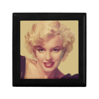 Marilyn in Black Gift Box