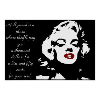 Marilyn Manroe Poster