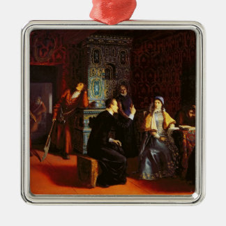Marina Mniszech under Arrest with A Priest, 1883 Christmas Ornament