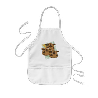 Marinated Moo Moo Dumplings Platter Kids Apron
