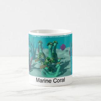 Marine Coral Funny Mugs Tees Cards Gifts Mug