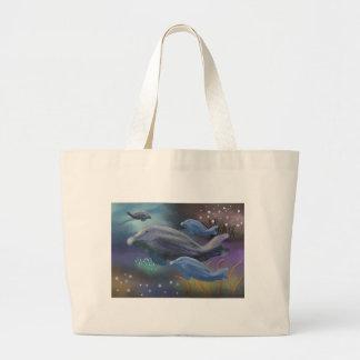 Marine Habitat Canvas Bags