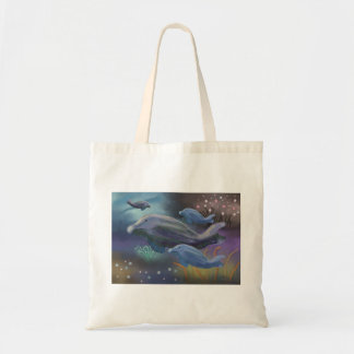 Marine Habitat Budget Tote Bag