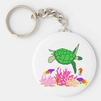 Marine Life key chain