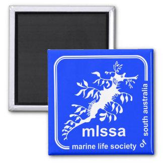 Marine Life Society of South Australia Logo Magnet