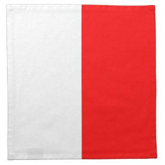 "Marine Sign Code Flag Letter H ""Hotel"" Napkin"