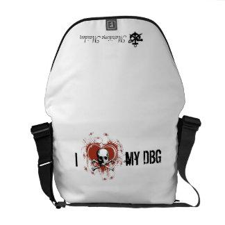 Maritime Maiden - DBG Love Messenger Bags