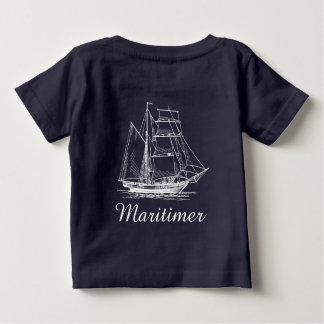 Maritimer nautical sailing ship boat shirt