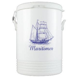 Maritimer Nova Scotia ship   Igloo Beverage Cooler