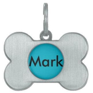 Mark Bone Pet Tag