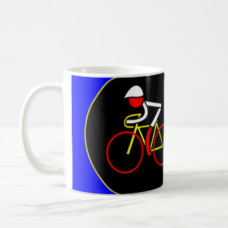 Mark Renshaw fires The Canon Ball - Tour de France Basic White Mug