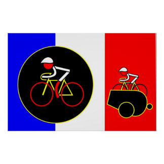 Mark Renshaw fires The Canon Ball - Tour de France Poster