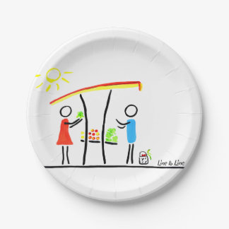 market 7 inch paper plate