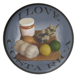 Market Day Selection Costa Rica Plate