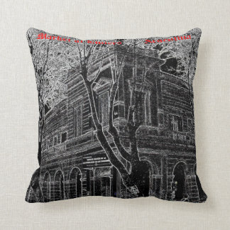 Market of Liniers (Pencil design) Cushion