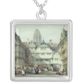 Market Place, Frankfurt Silver Plated Necklace
