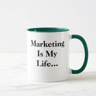 Marketing Is My Life... Funny Profound Slogan