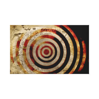 Markings Wall Canvas Gallery Wrapped Canvas