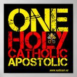 Marks of the Catholic Church Print