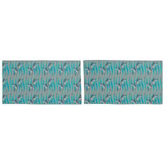 Marlin Pattern Pillowcase