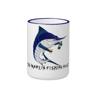 Marlinbeer-coffee mug, MAD-MARLIN FISHING AUST Coffee Mug
