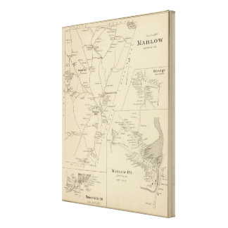Marlow, Cheshire Co Canvas Print