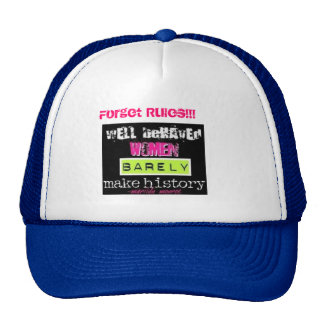 marlt manroe Forget Rules Hat