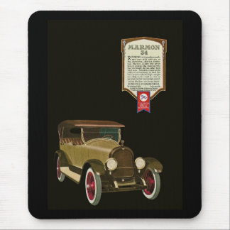 Marmon 34 - Vintage Auto Advertisement Mousepad