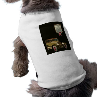 Marmon 34 - Vintage Auto Advertisement Sleeveless Dog Shirt