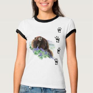 Marmot Tracks -  Animal Shirt
