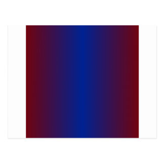 Maroon and Imperial Blue Gradient Postcard