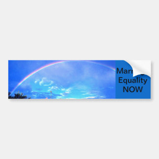 Marriage Equality NOW Bumper Sticker