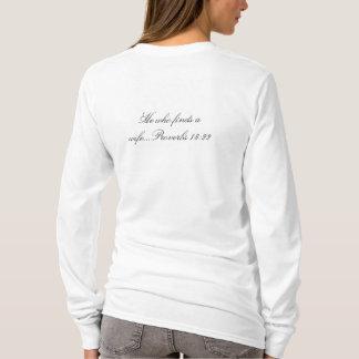 Marriage Material, white long sleeve tee shirt