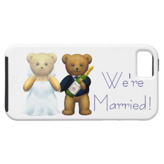 Married Teddy Bears Tough iPhone 5 Case