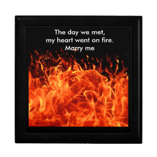 Marry Me Large Square Gift Box
