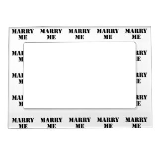 Marry Me Magnetic Photo Frame