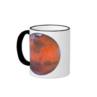 Mars Mug. Ringer Mug