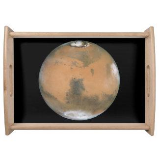 Mars Near Opposition Service Tray
