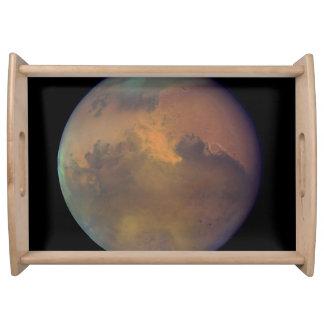 Mars Near Opposition Serving Tray