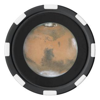 Mars Near Opposition Set Of Poker Chips
