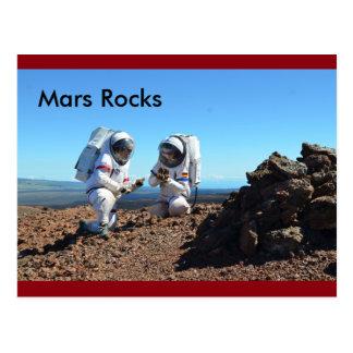 Mars Rocks Postcard
