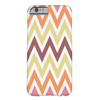 Marsala Zigzag Pattern Barely There iPhone 6 Case