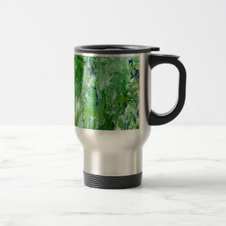 Marsh Faeries Abstract Travel Mug