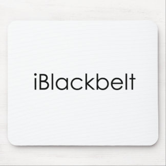 Martial Arts iBlackbelt Mouse Pad