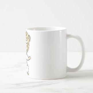 Martial Arts Leopard Basic White Mug