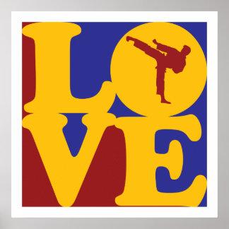 Martial Arts Love Poster